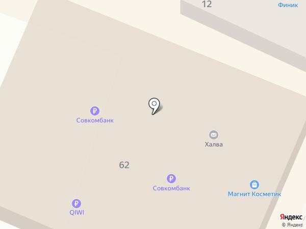 Магнит на карте Георгиевска