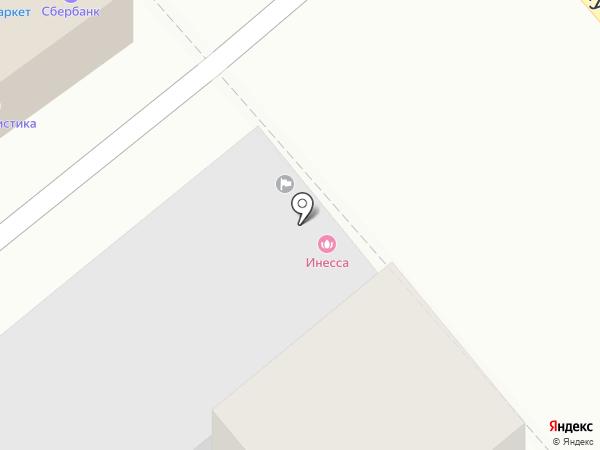 Инесса на карте Георгиевска