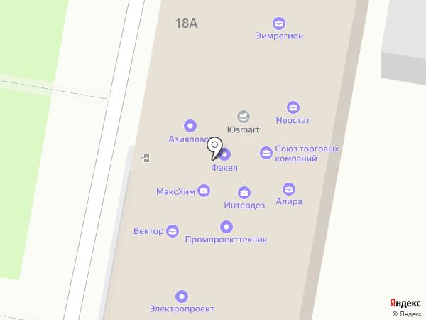 Неостат на карте Дзержинска