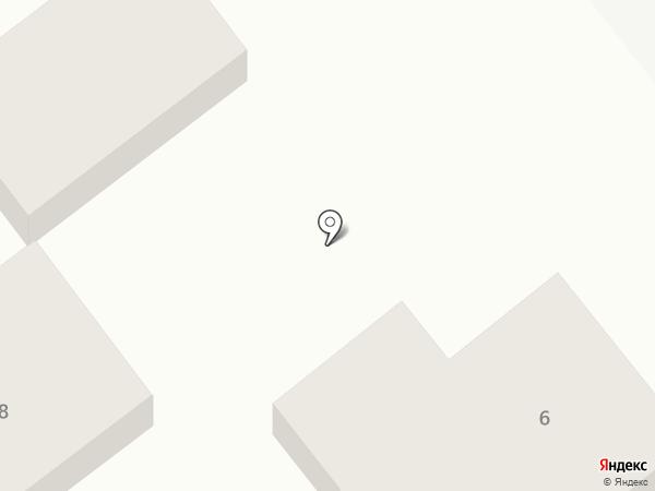 Силуэт на карте Георгиевска