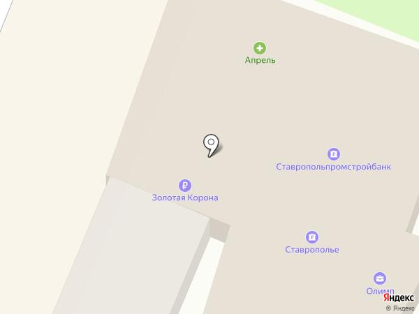 Виолетта на карте Георгиевска