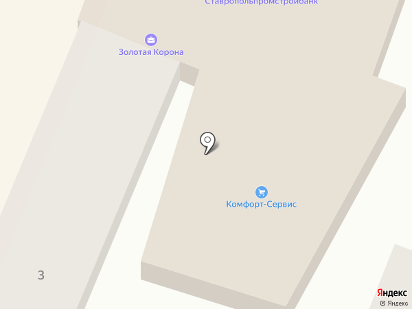 Грааль на карте Георгиевска