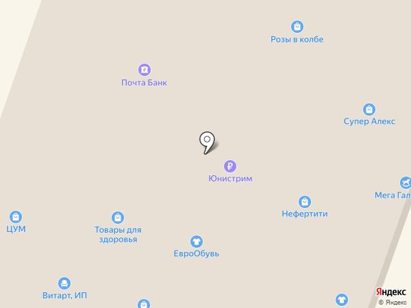 ЦУМ на карте Георгиевска