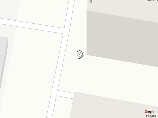 Уголовно-исполнительная инспекция на карте Дзержинска