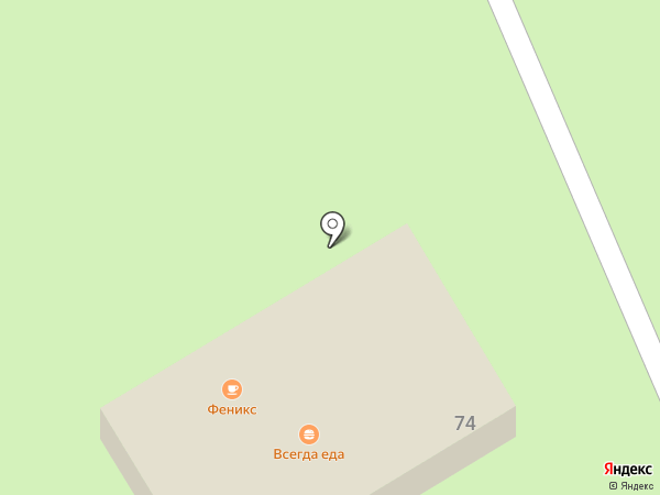 Феникс на карте Георгиевска