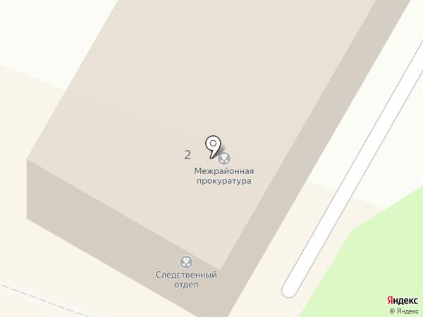 Следственный отдел по г. Георгиевск на карте Георгиевска