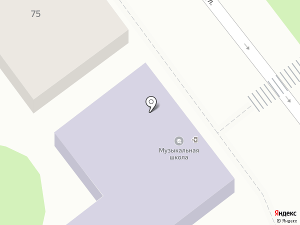 Детская музыкальная школа на карте Георгиевска