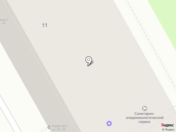 Санитарно-эпидемиологический сервис на карте Дзержинска