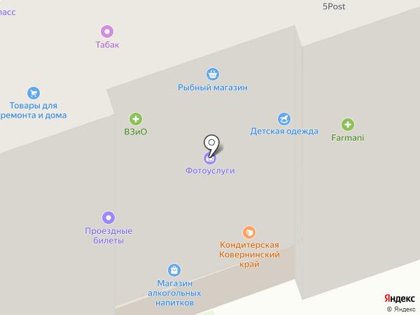 Студия комфорта на карте Дзержинска