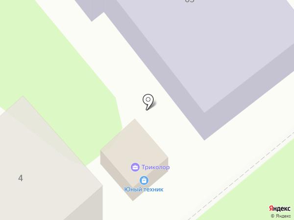 Юный техник на карте Георгиевска