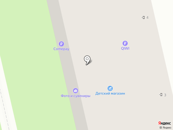 Пятерочка на карте Богородска