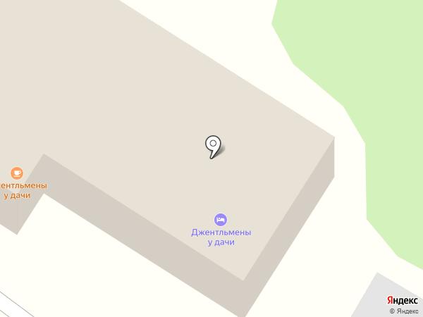 Джентльмены у дачи на карте Георгиевска