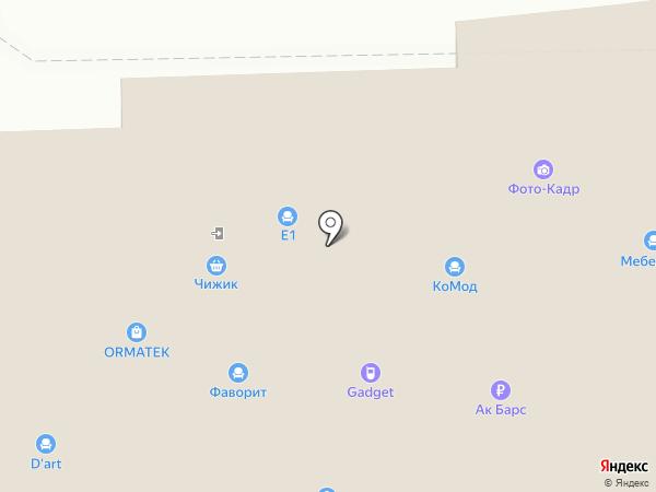 Оптика на карте Дзержинска
