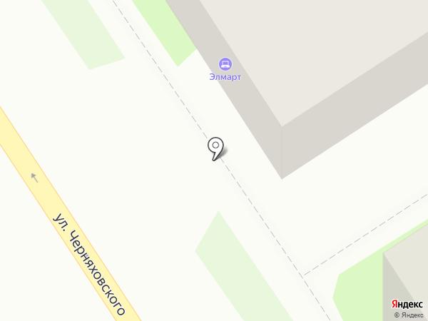 Элмарт на карте Дзержинска