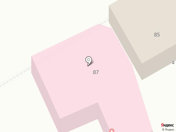 Краевой клинический кожно-венерологический диспансер на карте Георгиевска