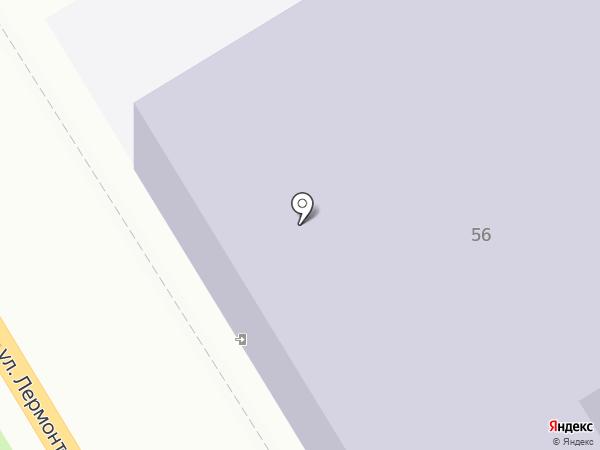 Средняя общеобразовательная школа №3 на карте Георгиевска