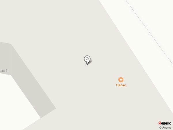 Пегас на карте Дзержинска