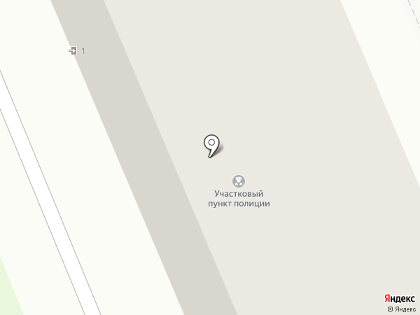 Участковый пункт полиции на карте Богородска