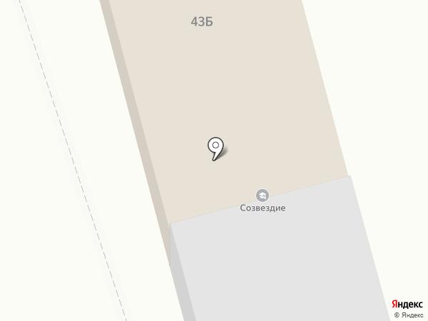Созвездие на карте Дзержинска