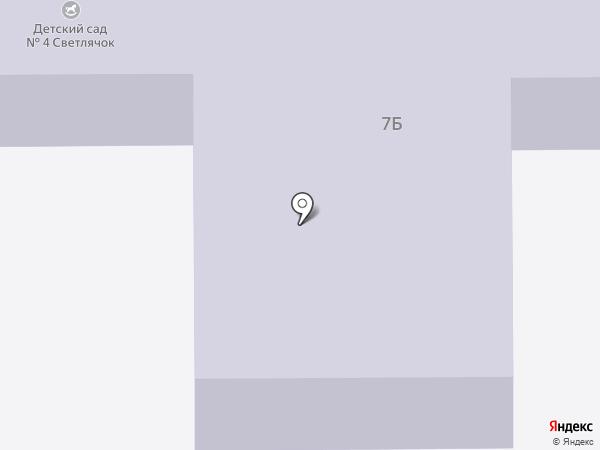 Детский сад №4 на карте Богородска