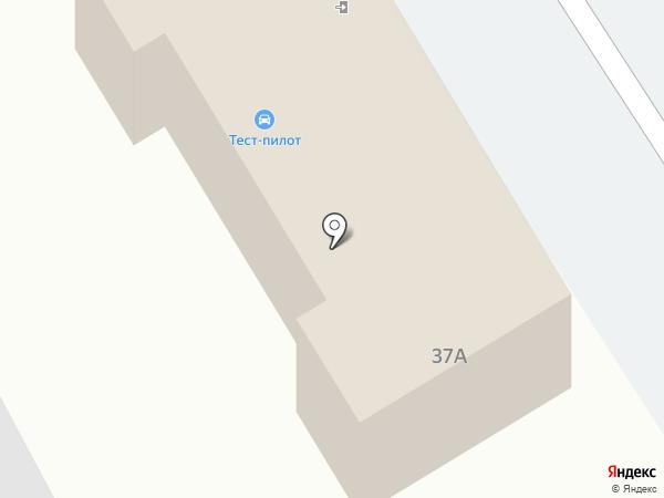 ТЕСТ-ПИЛОТ на карте Дзержинска