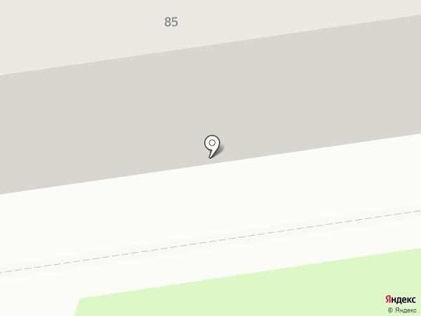 Ладушка на карте Дзержинска