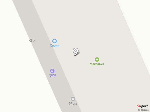 Банкомат, АКБ САРОВБИЗНЕСБАНК на карте Богородска