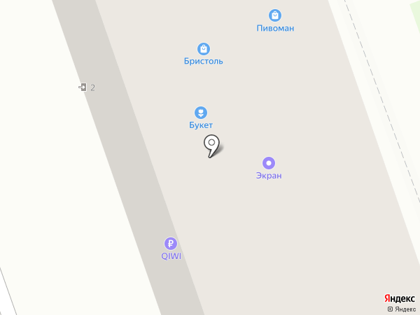 Эфир на карте Богородска
