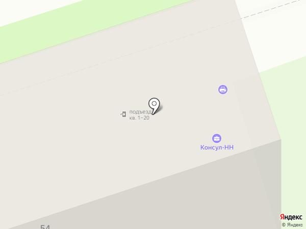 Консул-НН на карте Дзержинска