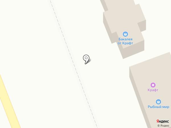 Магазин хлебобулочных изделий на карте Богородска
