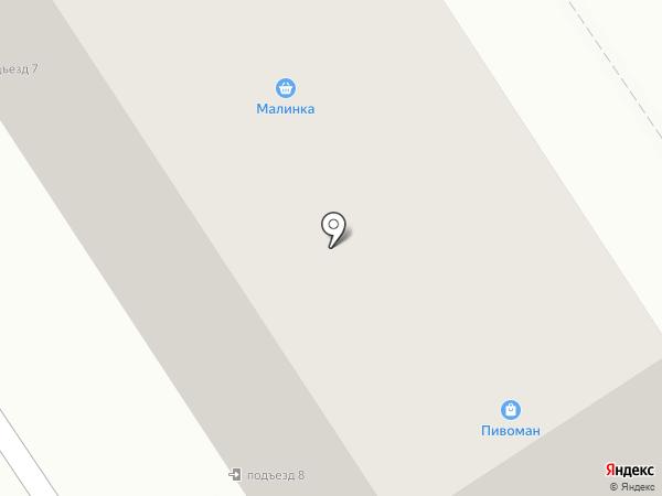Север на карте Дзержинска