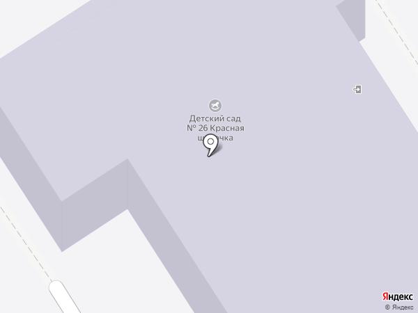 Детский сад №26 для детей раннего возраста на карте Дзержинска
