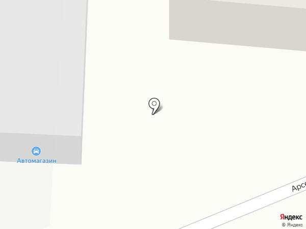 Автомагазин на карте Георгиевска