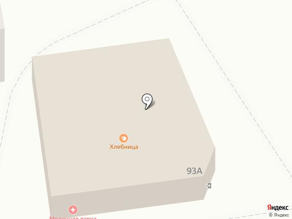 Хлебница на карте Дзержинска