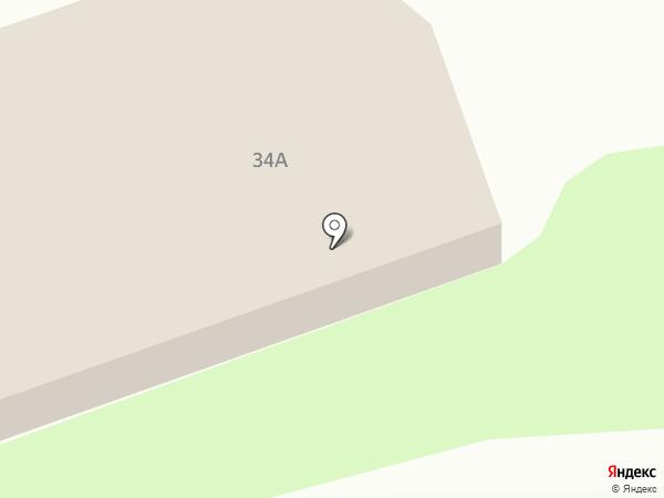 Закусочная на ул. Попова на карте Дзержинска