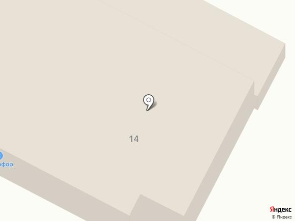 Спецгазреммонтаж на карте Георгиевска
