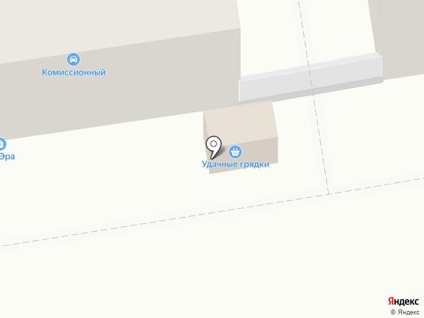 Удачные грядки на карте Дзержинска