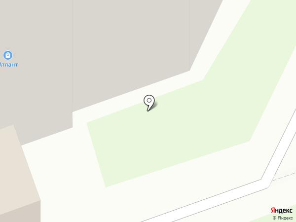Рюген на карте Дзержинска
