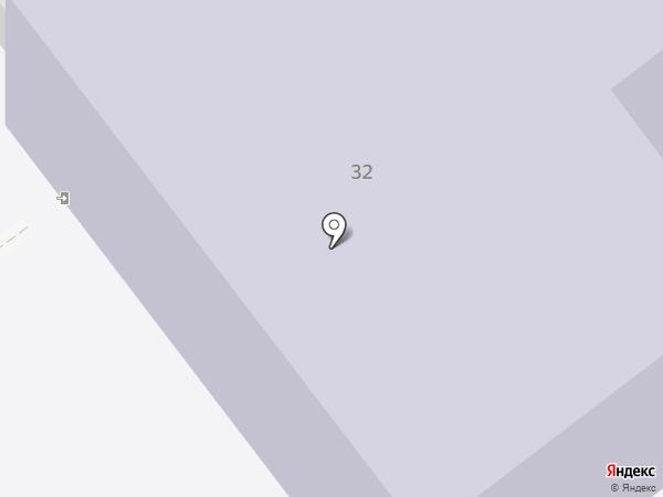 Дзержинский индустриально-коммерческий техникум на карте Дзержинска
