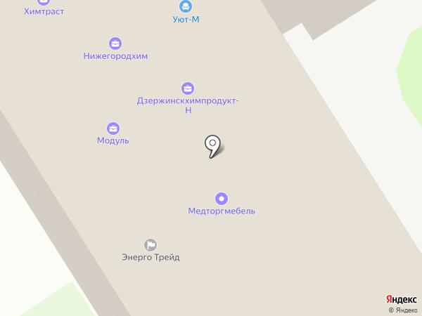 Комбинат бытового обслуживания населения на карте Дзержинска