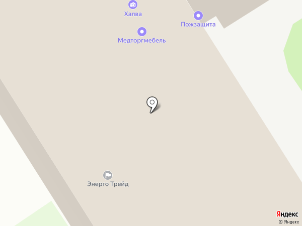Модуль на карте Дзержинска