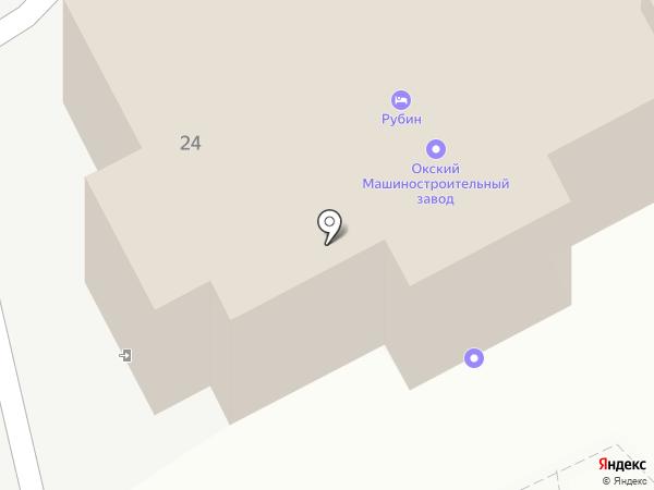 Рубин на карте Богородска