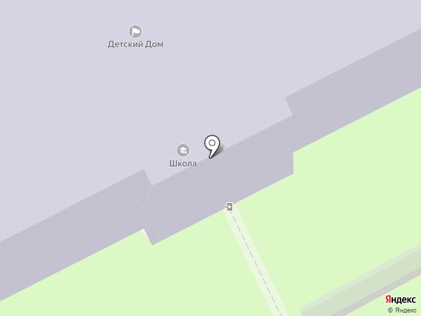 Богородская школа №8 на карте Богородска