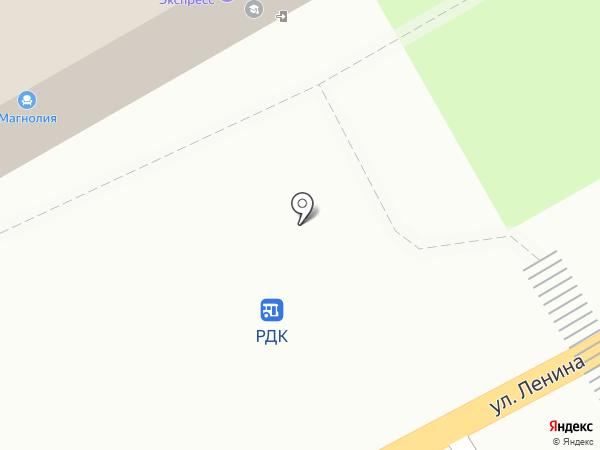 Нижегородский государственный архитектурно-строительный университет на карте Богородска