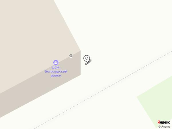 Центр занятости населения Богородского района на карте Богородска