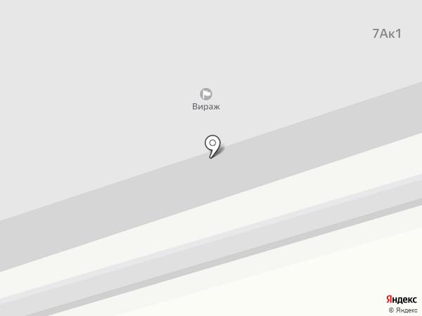Вираж на карте Богородска