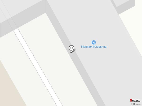 Маккам-классика на карте Богородска