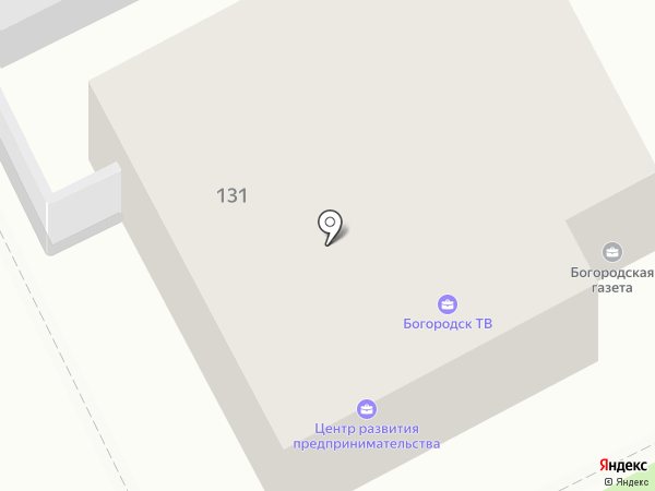 Мое Березополье на карте Богородска