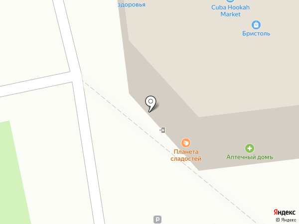 Планета сладостей на карте Богородска
