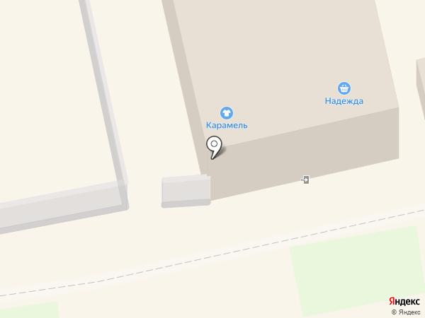 Топаз на карте Богородска